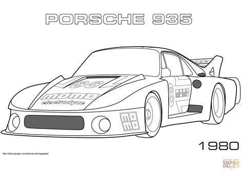 Coloring Pages Porsche  Coloring Home