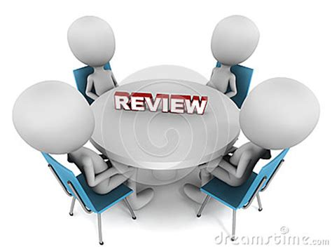Review Meeting Stock Illustration - Image: 39499802