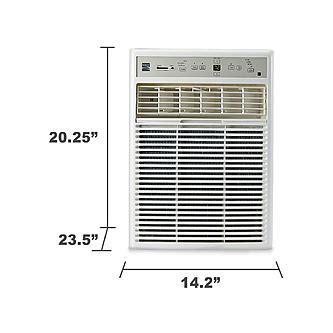 kenmore  btu  casementslider window mounted air conditioner