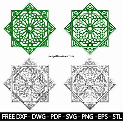 Islamic Vector Ornament Patterns Geometric Designs Tile