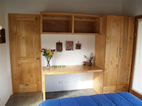 built in desk shelves and closet casa amanecer bed and