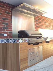 Unique One Off Outdoor Kitchen - Contemporary