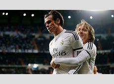 Real Madrid's Gareth Bale and Luka Modric could find