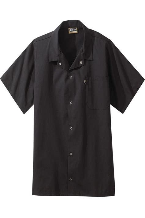 Edwards Short Sleeve Unisex Cook Shirts, Snap Plackets   1302