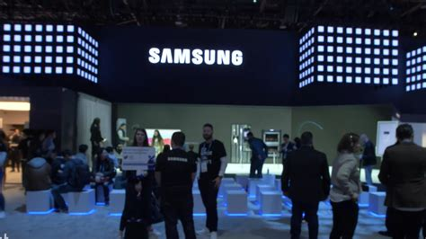 samsungs ces  booth video cnet