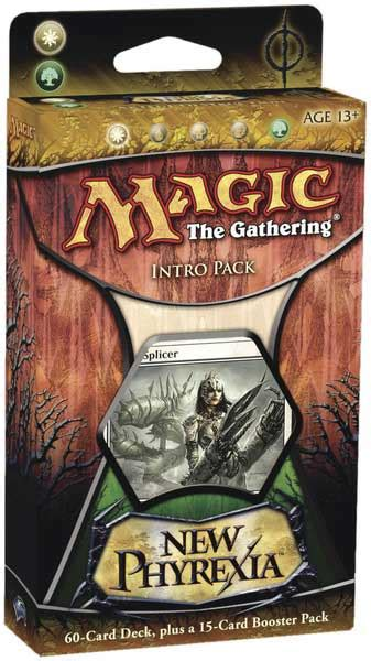 New Phyrexia Green Event Deck by New Phyrexia Product Pack Starter Decks And