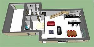 maison 131m2 habitables etage partiel vos avis svp 109 With sweet home 3d maison a etage