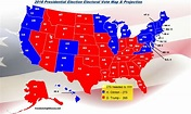 Final Electoral Vote Map & Projection: Hillary Clinton 273 ...