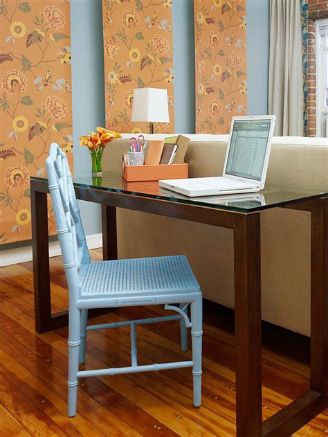 office desk in living room easy decorating ideas for summer 2013 from bhg