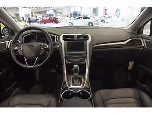 2016 Ford Fusion Hybrid Interior U S News & World Report