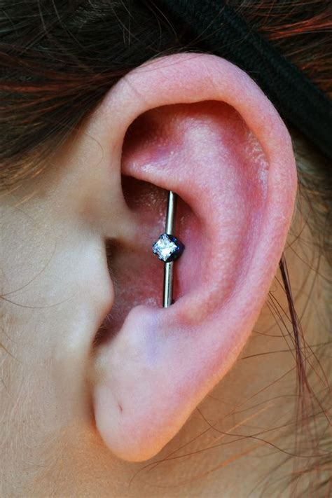 Industrial Piercing 101 - Everything You Need To Know ...