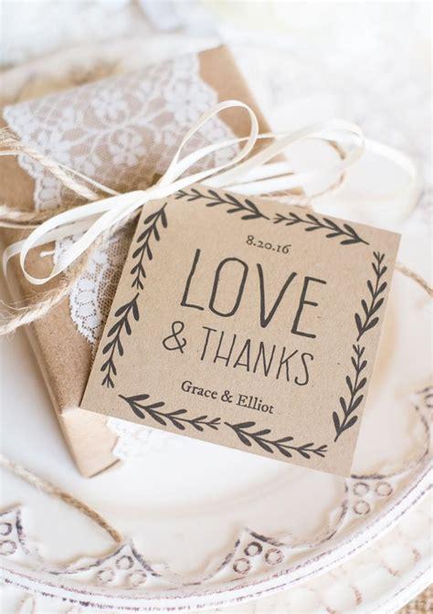 rustic wedding favor tags printable favor tag template
