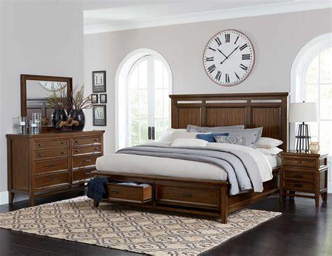Homelegance Bedroom Set by Homelegance Frazier Park Bedroom Set Brown Cherry 1649