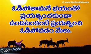 Success Life Quotations in Telugu Language | QuotesAdda ...