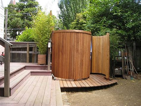 Outdoor Showers : Important Things To Consider When Designing Outdoor Shower