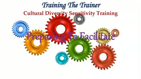 cultural diversity sensitivity training  trainers