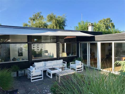dänemark haus mit pool mid century modern architecture house 1959 by the in copenhagen amager vest