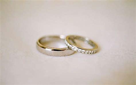 wedding rings free closeup of a pair of