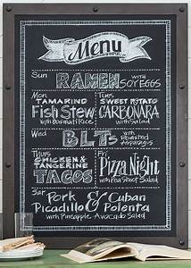 Pictures Chalkboard Menu Boards,