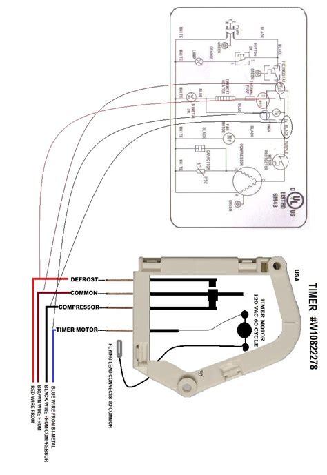 Wrg Defrost Timer Wiring Diagram