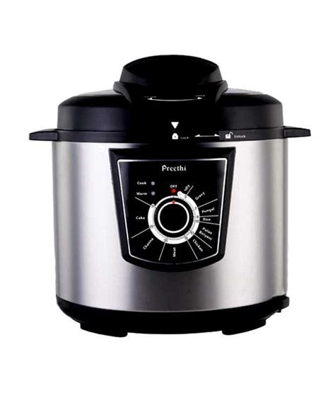 Preethi Twist Electric Pressure Cooker Price in India