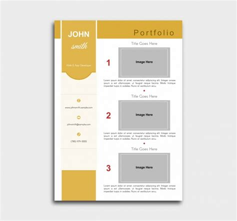 Pro Resume Template by Pro Cv Template