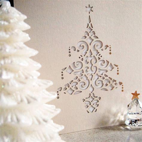 wie kann man originelle weihnachtskarten basteln mit
