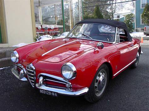 1959 Alfa Romeo by 1959 Alfa Romeo Giulietta 750 101 Spider