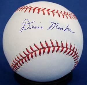 Denis Menke Signed Baseball, Autographed MLB Baseballs