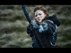 Ygritte puts three arrows in Jon Snow - Game of Thrones ...  Ygritte