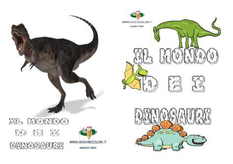 Giochi Di Dinosauri Volanti Schede Didattiche Sui Dinosauri Libro Da Costruire Con