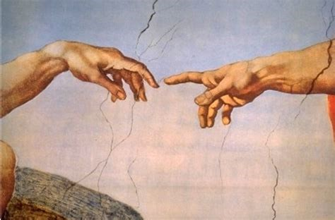 Image result for Hands Reaching Sistine Chapel Painting