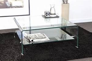 Table Basse Carrée Verre : table basse carr en verre ottawa design sur sofactory ~ Teatrodelosmanantiales.com Idées de Décoration