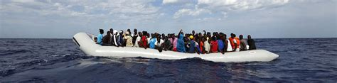 Msf Refugee Boat by Refugee Boat Found With 22 Dead Bodies Off Libya Coast