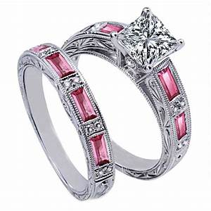 Pin by nicole sustek ryan on my likes pinterest for Wedding ring sets with sapphire accents
