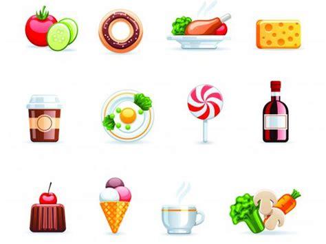 ไอคอน อาหาร เครื่องดื่ม ภาพเวกเตอร์ รูปกราฟฟิกลายเส้น ลาย ...