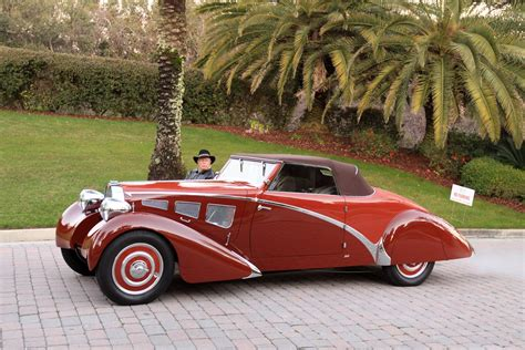 1934 Bugatti Type-57 Paul-Nee Cabriolet Car Vehicle Sport ...