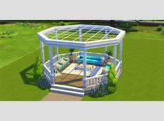 How to build a Gazebo in The Sims 4 Sims Online