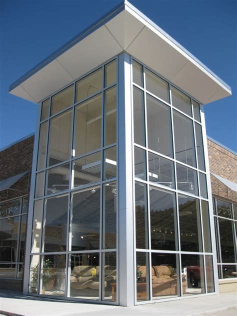 curtain wall for residential decorate the house with