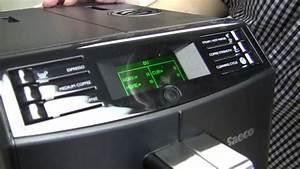Saeco Kaffeevollautomat Hd8867 11 Minuto : scg tech tips saeco minuto test mode youtube ~ Lizthompson.info Haus und Dekorationen