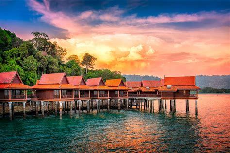 chalets  water langkawi island malaysia sumfinity