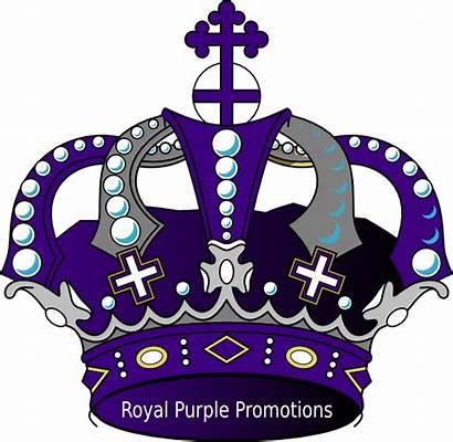 Crown Purple Royal Clipart Crowns Promo Clip