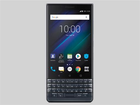 blackberry key2 le now on sale in the uk mobile news