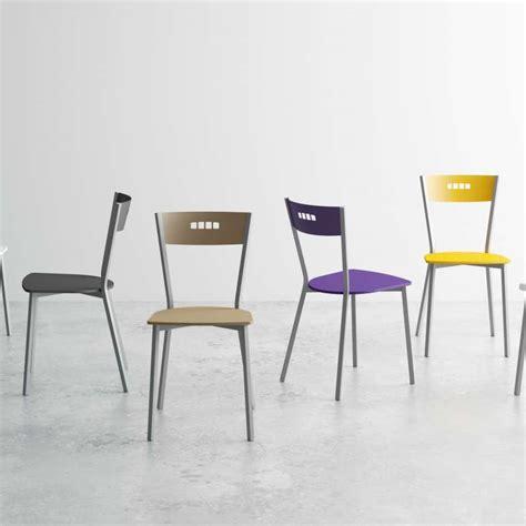 chaise de cuisine moderne chaise de cuisine moderne en bois et métal versus 4