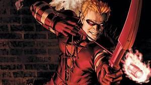 Red Arrow Superhero Wallpaper