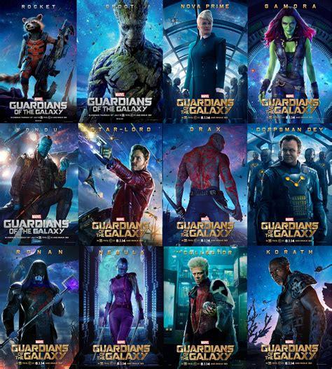 Guardians Of The Galaxy Hd Galería De Posters De Los Personajes De Guardianes De La Galaxia