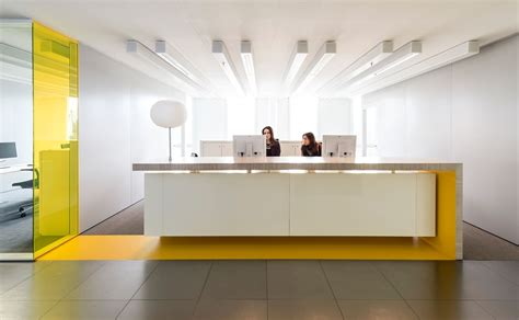 bureau reception studio groen schild corporate learning center