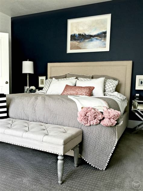 Bedroom Bench Navy Blue by The Best Navy Blue Paint For Your Home Tauni Co