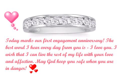 happy st engagement anniversary status  fiance  wife love quotes engagement wishes