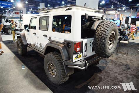 aev jeep wrangler unlimited 2016 sema aev jeep jk wrangler unlimited
